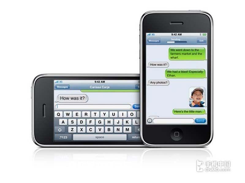 苹果iPhone3GS(8G)产品本身外观第4张