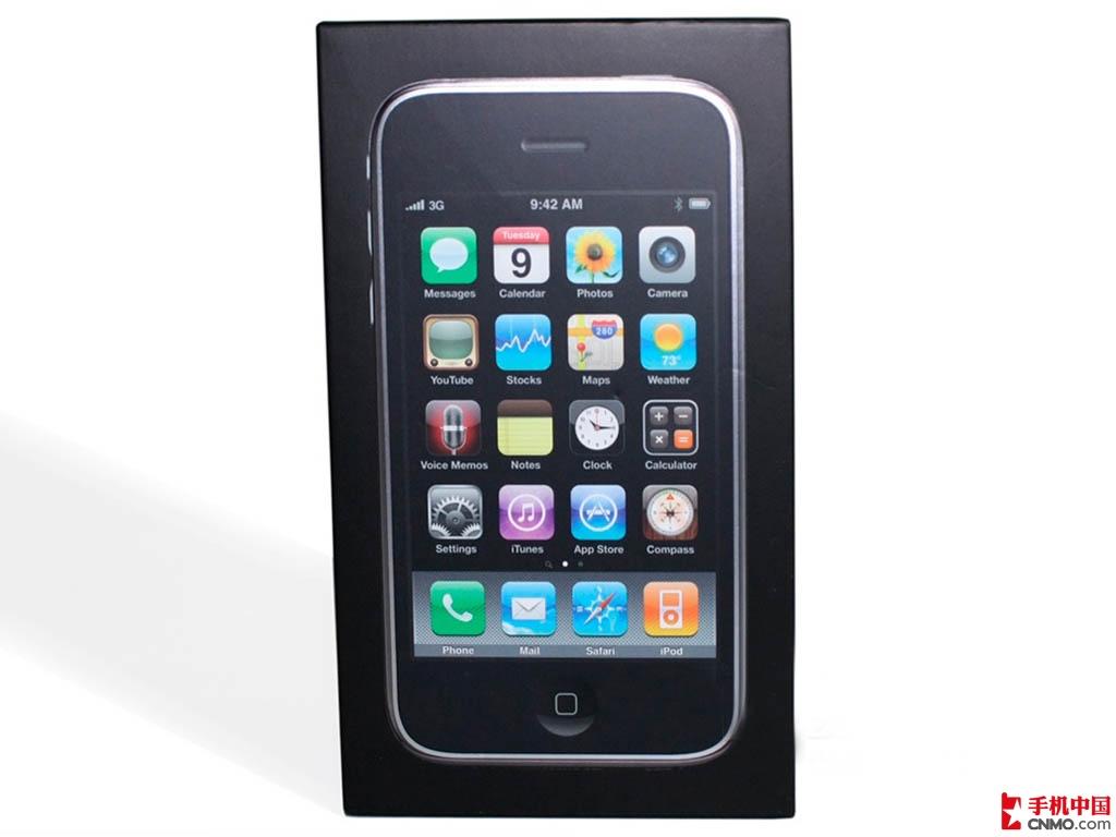 苹果iPhone3GS(8G)整体外观第5张