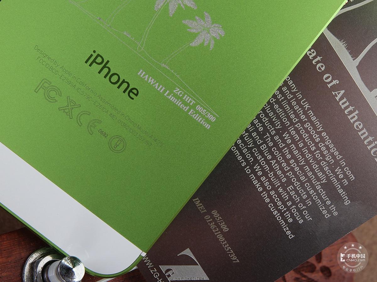 苹果iPhone5(32GB)机身细节第4张
