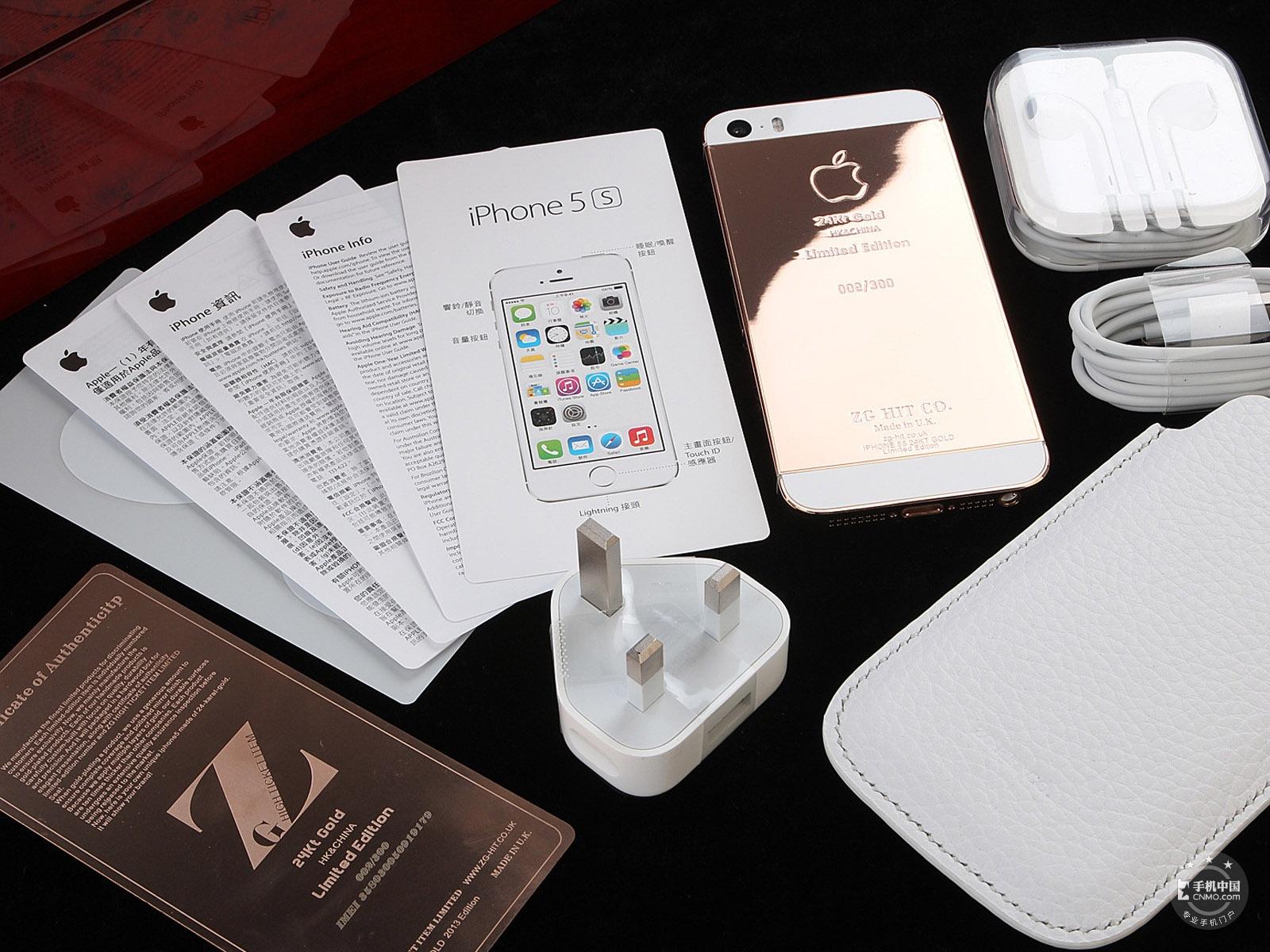 苹果iPhone5s(电信版)整体外观第7张