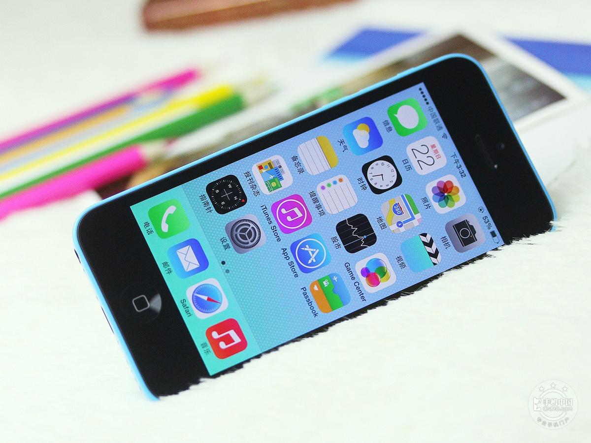 苹果iPhone5c(8GB)整体外观第5张