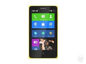 诺基亚Nokia X黄色