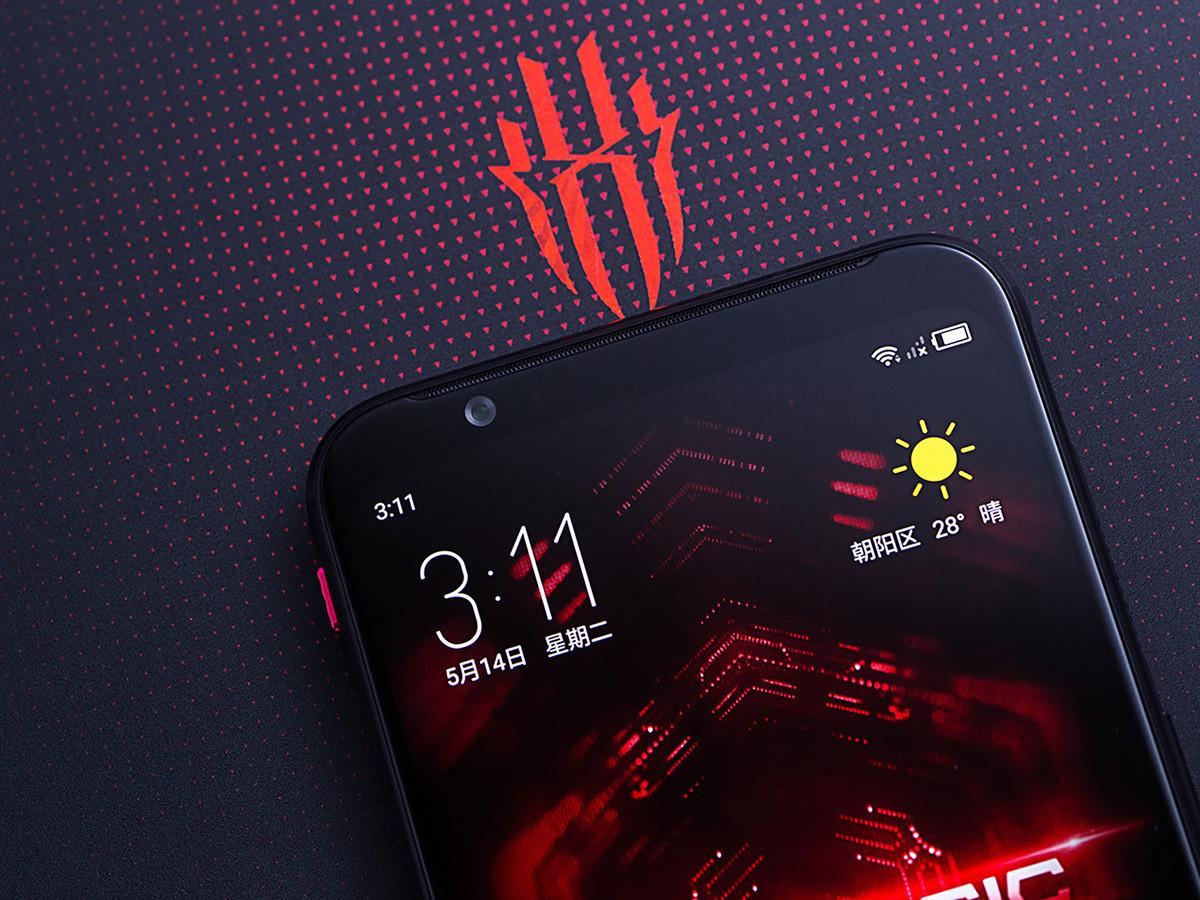 努比亚红魔3电竞手机(12+256GB)机身细节第1张