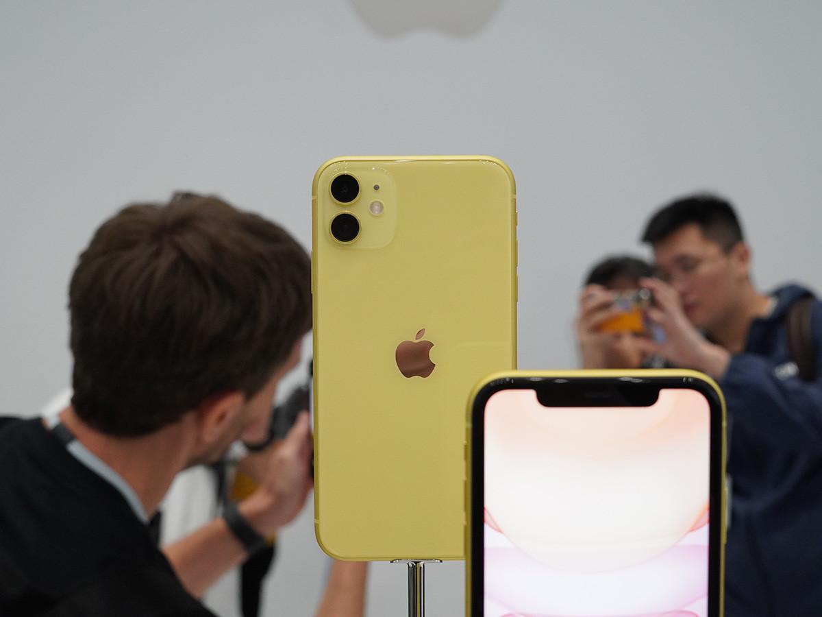 苹果iPhone11(128GB)机身细节第7张