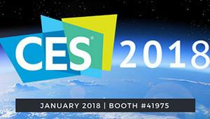 【CES 2018】国际消费电子展将于2018年1月9日至12日在拉斯维加斯盛大开幕。本次展览净面积超过250万平方英尺